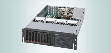 3U server type PC - rack mount for several Spectrum cards