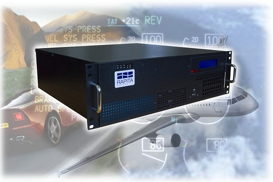 embedded system RTBx data logger for avionics and automotive test