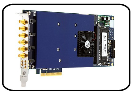 m4i.6631-x8 PCI-express arbitrary waveform generator card