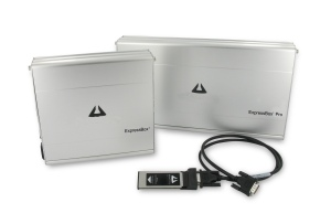 PCI-Express card boxes with ExpressCard interface for Notebook PC