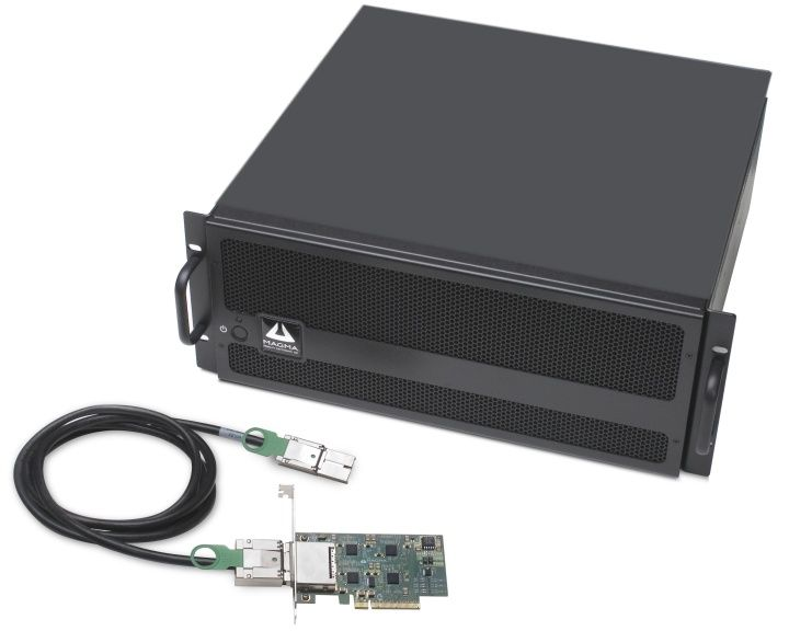 PCIe Docking Station. Seven PCIe slots