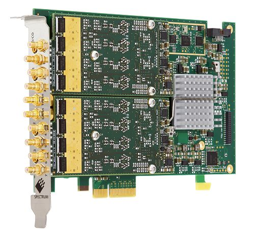 M2p.65xx pci-express AWG with 8 channels.