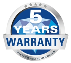 5 years guarantee logo